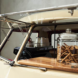 Pop Up Kombi Coffee Service
