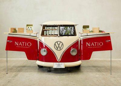 Promo gallery Natio Spirit red Branded Van